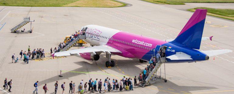 Wizz-Air-Vorfeld