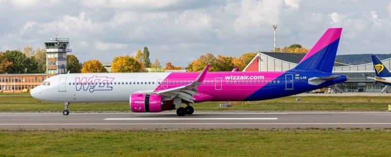 Wizz Air A321NEO am Flughafen Memmingen, Foto Maximilian Mair