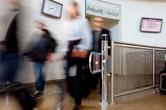 Arrival at Memmingen Airport