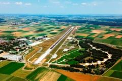 Aerial photography Memmingen Airport