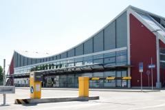 Terminal exterior view